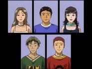 金田一二三可憐的活躍!鵜飼村殺人事件(電視動畫版) 登場角色