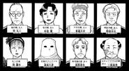 異人館村殺人事件(漫畫系列) 案件登場角色