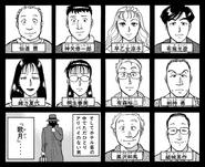 歌劇院殺人事件(漫畫系列) 案件登場角色