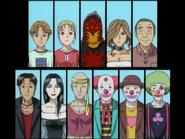 怪奇馬戲團殺人(電視動畫版) 登場角色