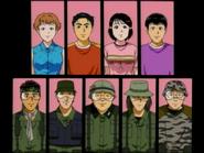 墓場島殺人事件(電視動畫版) 登場角色