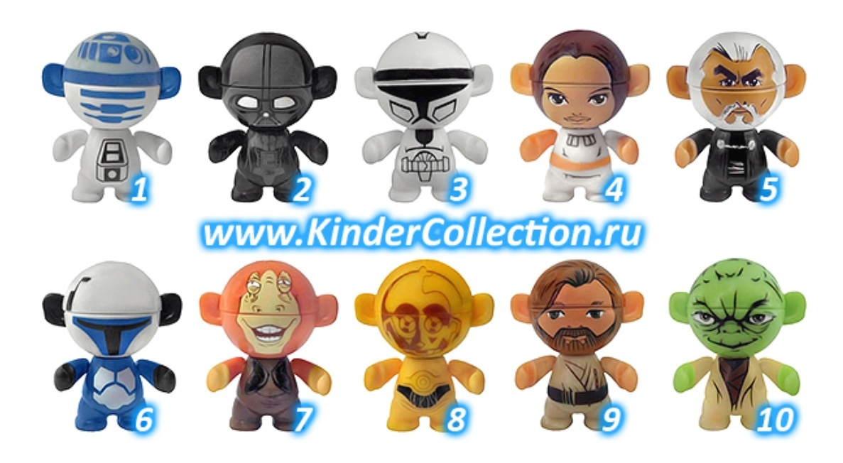 star wars twistheads toy series kinder surprise wiki fandom powered by wikia. Black Bedroom Furniture Sets. Home Design Ideas