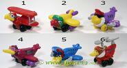 Bird-Faced Aeroplane toys