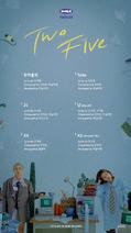 BOL4 Two Five track list