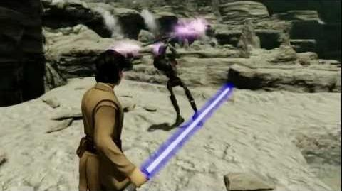 Star Wars Kinect Trailer (E3 2011)