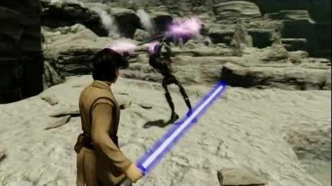 Star Wars Kinect Trailer (E3 2011)