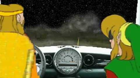 Youtube Poop- The King Gets a Car