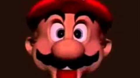 YTP Mario Head Eats a McDonalds