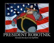 President robotnik motivator by isuper