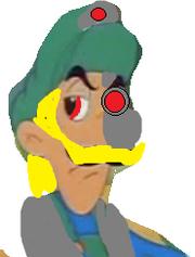 Saiyan Mama Luigi