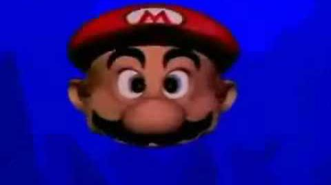 Lost Youtube Poop Mario Head eats rotten spaghetti