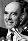 Premier Robert Stanfield