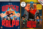 Wreck-It Ralph DVD and Blu-Ray 2D 3D