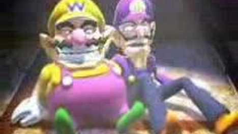 Youtube poop wario power tennis