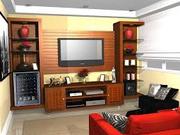 TV on a house