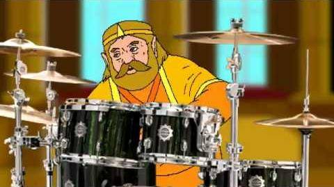 The King's Wii U Drumming for 1 Hour