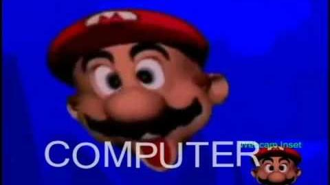 YTP - Mario's Head Teaches Typing To Himself