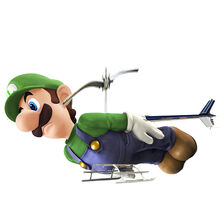 Somewhat helicopter luigi