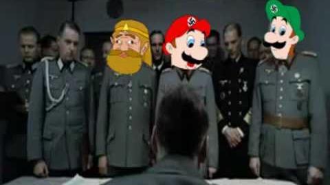 Youtube Poop The retarded king pisses off Adolf Hitler