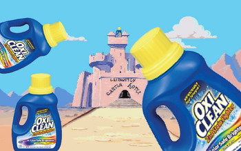 Oxiclean Castle