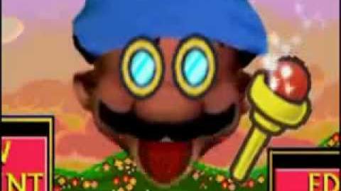 The Annoying Mario Head