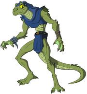 Lizard Man 6 homage to Classic Lizard Man