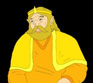 King harkinian by uiopuiop