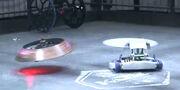 Saber-X deflects Vega