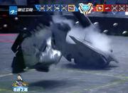 Vulcan flips Spectre 1