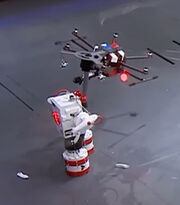 The Martian vs Drone 1