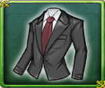 (Lv3) Black Waiter Outfit