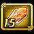 Crystal orange 15