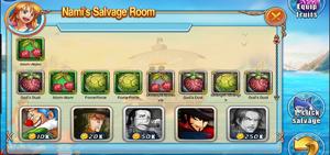 Salvage Room Overview