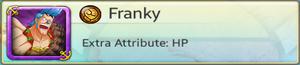 Bond Partner - Franky