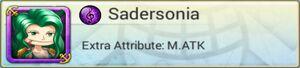 Bond HBoa Sadersonia