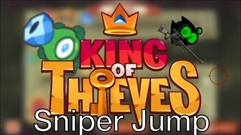 "King of Thieves How To Do ""Sniper Jump"""