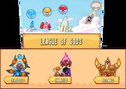 Cartel de league of gods 2