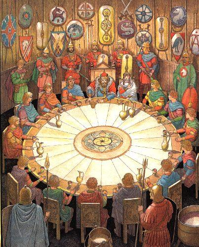 Merveilleux Round Table