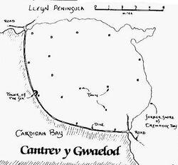 Cantref Gwaelod Map