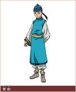 Mou Ki Character Design anime S1