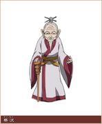 Sai Taku Character Design anime S1