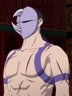 Shun Men anime portrait