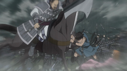 Shin Saves Mou Ten From Kai Shi Bou's Strike anime S2