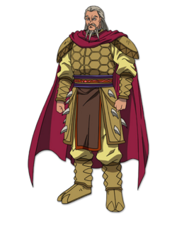 Duke Hyou Character Design anime S1