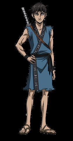 Shin Character Design anime S2