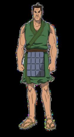 Bi Tou Character Design anime S1
