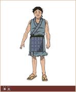 Taku Kei Character Design anime S1