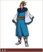 Ri Boku Character Design anime S1