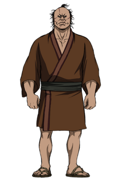 Den Yuu Character Design anime S2