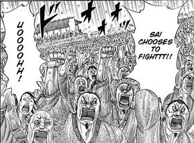 Sai chooses to fight